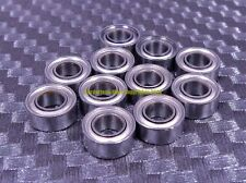 "[QTY 10] SR2-5ZZ R2-5ZZ (1/8"" x 5/16"" x 9/64"") 440C Stainless Steel Ball Bearing"