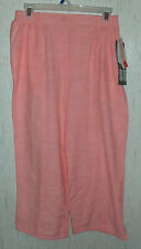 "NWT WOMENS / JUNIORS Cathy Daniels ""TUMMY REDUCER"" Coral CAPRIS  SIZE M"