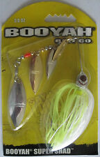 BOOYAH BAIT Super Shad 3/8 oz. - Silver Chartreuse