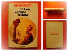La Pierre, la Feuille et le Ciseaux. Henri Troyat- Roman éditions France Loisirs