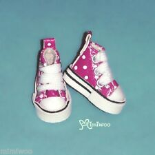 "Mimi Collection 12"" Neo Blythe Pullip Bjd Doll MICRO Shoes Dot Sneaker CHERRY"