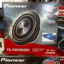 "Pioneer TSSW2002D2 600W 8"" TS Series Shallow Mount Dual 2 ohm Subwoofer NEW Low$"