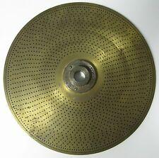 vintage dividing plate for watch maker lathe 158 mm 48 to 360 make teeth wheel