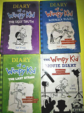 Lot of 4~ The Diary of a Wimpy Kid Series Movie Days,Last Straw++by Jeff Kinney