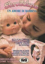 X1359 Sbrodolina - Gig - Pubblicità del 1989 - Vintage advertising