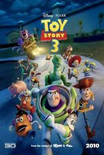 """""""TOY STORY 3"""" Movie Poster [Licensed-NEW-USA] 27x40"""" Theater Size (2010) PIXAR"""