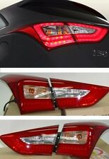OEM LED Rear Tail Light Lamp 4Pcs For HYUNDAI ELANTRA GT Hatchback 2013 - 2016