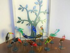 SWAROVSKI Paradise Tropical Bird s - COMPLETE SET OR BY PIECE YOUR CHOICE :  MIB