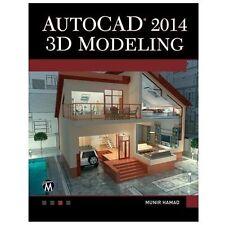 2013-10-24, AutoCAD 2014 3D Modeling, Hamad, Munir, Very Good, -- printed, Book