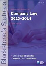 Blackstone's Statutes on Company Law 2013-2014-ExLibrary