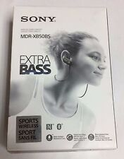Sony MDR-XB50BS In-ear Wireless Stereo Headset.  Black.  Hands-free calling!