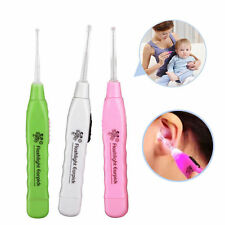 Hot Practical Ear Pick Wax Remover Cleaner Curette With LED Flashlight Light