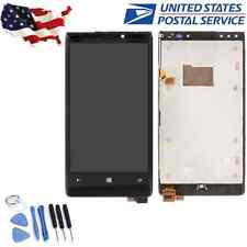 Black For Nokia Lumia 920 LCD Display Touch Screen Digitizer Replacement + Frame