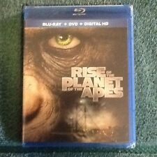 Rise of the Planet of the Apes (Blu-ray/DVD, 2014, 2-Disc Set, Includes Digital4