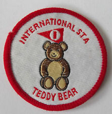 TEDDY BEAR International S.T.A. Woven Sew On Patch
