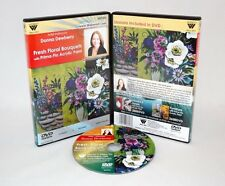 Donna Dewberry DVD, ACRYLIC PAINTING, TEACHES INCREDIBLE FLORALS, TV ARTIST