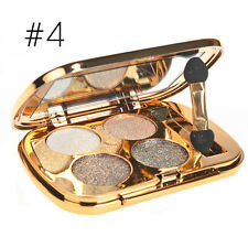 4Colors Waterproof Matte Eyeshadow Makeup Palette Glitter Eye Shadow Box