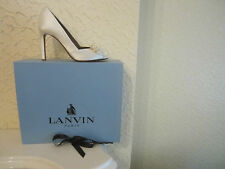 Lanvin Satin Bow Embellished Shoes