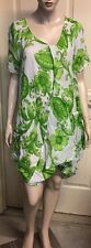 Morgan Marks Cotton Dress In A Size XL Not Lined