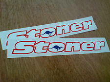 CASEY STONER Helmet Motorcycle Stickers 2 off 180mm
