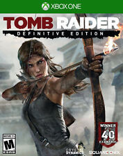 TOMB RAIDER DEFINITIVE EDITION XBOX ONE NEW! COMBAT LARA CROFT, SURVIVOR ACTION