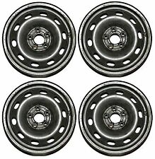 "Set of 4 VW Golf MK4 1.4 1.6 5 stud 6J x 14"" Steel Wheels ready for winter tyres"