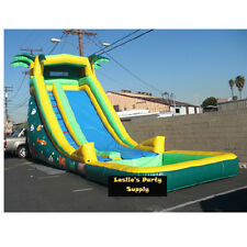 Commercial Inflatable Bounce Water slide palms Bouncer  Jumper