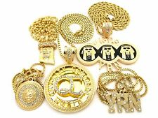 NEW ICED OUT MIGOS YRN 5 CHAIN SET.