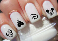 DISNEY Nail Art Stickers Transfers Decals Set of 50