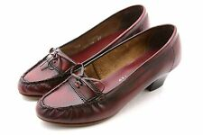 OLD MAINE TROTTERS Womens Shoes 5.5 Cordovan Burgundy Red Career Pumps Heels