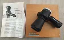 LEITZ MIKAS M: for Camera ON MICROSCOPE Relay lens 1/3X Micro-Ibsor + WOOD CASE