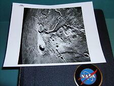 NASA APOLLO 15 VINTAGE BLACK & WHITE PHOTO NUMBER S-71-44666