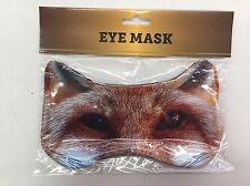 New! Fox Eye Printed Sleeping Mask Eye Mask Animal Eyes Mask