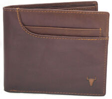 Men's Genuine Leather Wallet 11 Credit Card Holders Front Pocket Purse