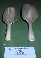 2 Vintage Old Metal HYGIA Measuring Scoop Kitchen Tool Germany