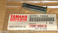TY250Z (2YY) New Genuine Yamaha Footrest Peg 10x42 Clevis Cotter Pin 91701-10042