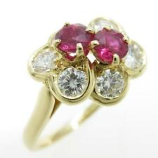 Authentic CHAUMET Ruby Ring  #260-001-677-4032