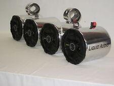 Kicker Pol DBLS Wakeboard Boat Tower UTV RZR CAN AM Rhino Cart Speakers NEW LOUD
