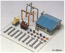 Greenmax No.2145 Factory Equipments A 1/150 N scale New Japan
