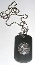 NCIS dog tag marine corps Gibbs USMC marine corps metal dog tag