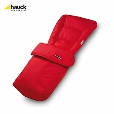 Hauck New Universal Cosy Toes Footmuff for Babies Pushchair - Red
