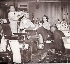 NY YANKEES CLASSIC GETTING HAIR CUT SHOE SHINE AND MANICURE AT BARBER SHOP