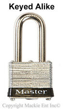 Master Coupler Latch Lock - Keyed Alike Locks #3KALFBLK