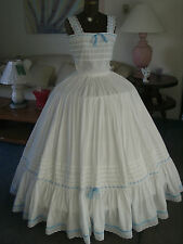 Custom made cotton Civil War petticoat - hand made in the USA