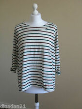 Pull&Bear women's  top, size 12 (M), striped, 3/4 sleeve, brand new