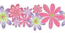 Design by Color Girls Floral Laser Cut Wallpaper Border BC1580671