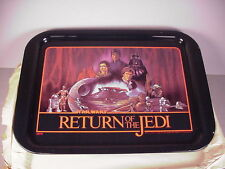 Vintage Star Wars Metal TV Snack Tray Return of the Jedi Chein Tin Toy NOS NEW