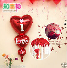 "Romance Weeding Decoration 48""String Heart Foil Balloons Propose Party Supplies"