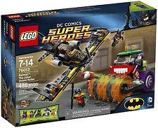 LEGO Superheroes 76013 Batman: The Joker Steam Roller Retired Set New