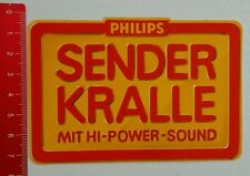 Aufkleber/Sticker: Philips Hi Power Sound (15061665)